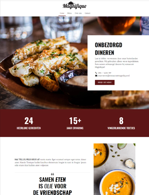 website voorbeeld template 4