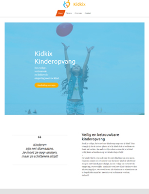 website voorbeeld template 6